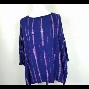 Juicy Couture batwing cold shoulder shirt